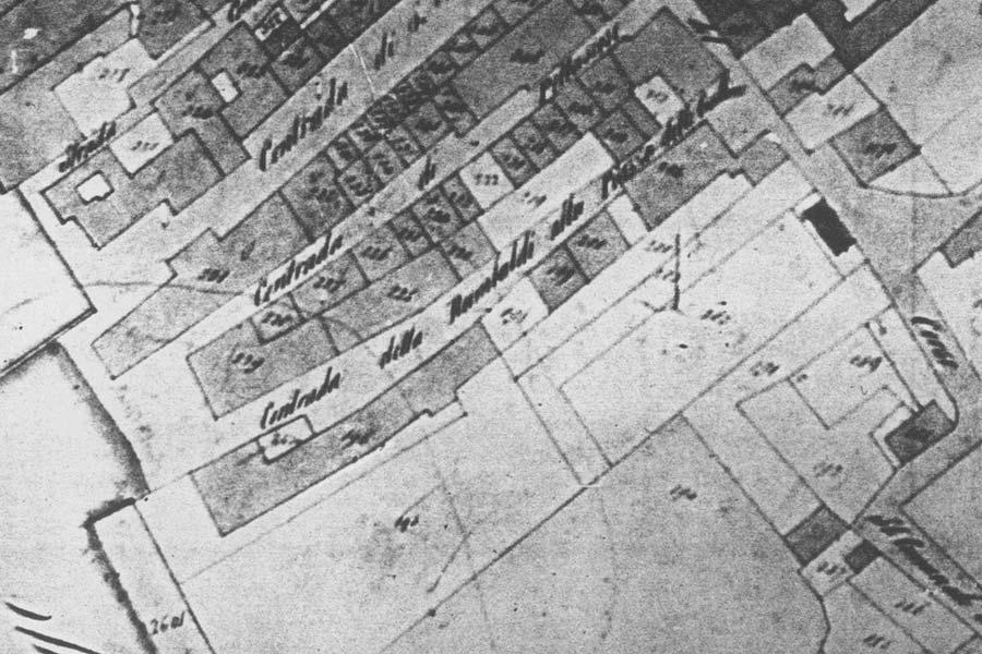 Napoleonic land register - Contrada Rambaldi